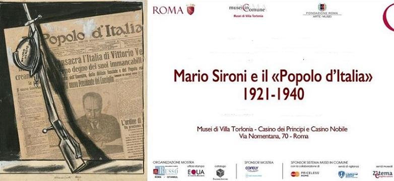 Manifesto pittura murale, Sironi