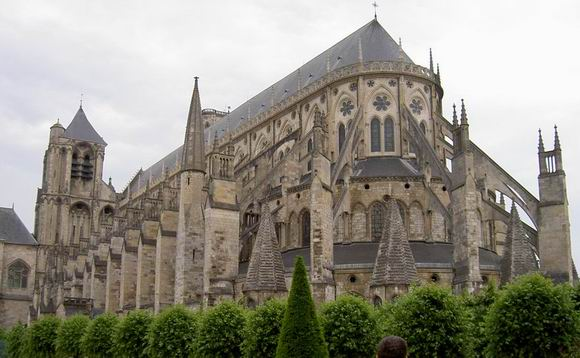 Bourges, cattedrale, foto Iride G. 2005