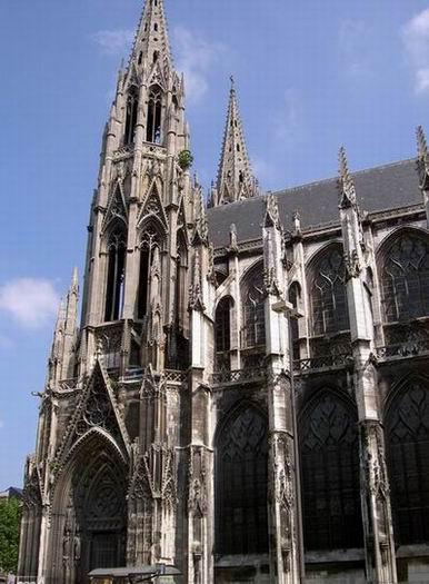 Rouen , cattedrale, foto Iride G. 2005