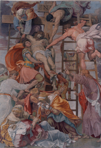 File:Da daniele da volterra, deposizione dalla croce, xvii